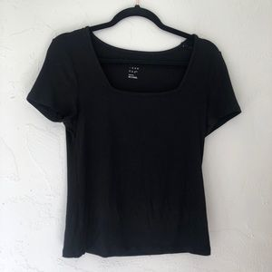 A NEW DAY square neck top